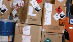 Verpakkingen met gevaarlijke stoffen